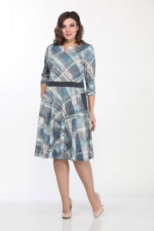 Lady Style Classic 724/1 синий-серый