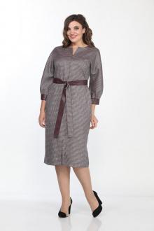 Lady Style Classic 2200/1 бордовый-серый