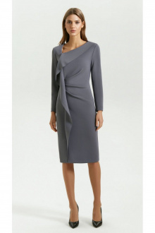 платье Vladini DR0339 серый