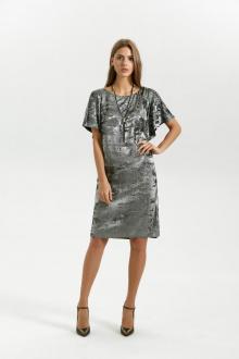 платье Vladini 4140 серебро