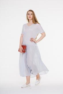 платье AMORI 9287 светло-серый