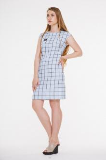 платье AMORI 9294 клетка