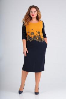 платье SOVITA M-2015 горчица