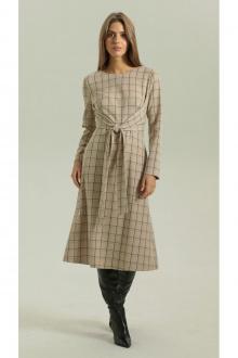 Платье Vladini DR0347 бежевый
