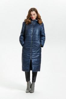 пальто TEZA 1792 синий