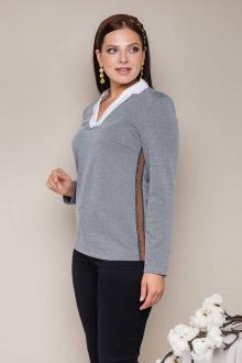 блуза Daloria 6120 серый