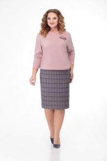 Кэтисбел 2476 розовый-серый