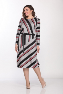 Lady Style Classic 2020/1 серый-красный