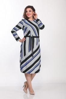 Lady Style Classic 2020/2 серый-синий