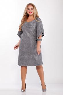 платье Belinga 1096 серебро