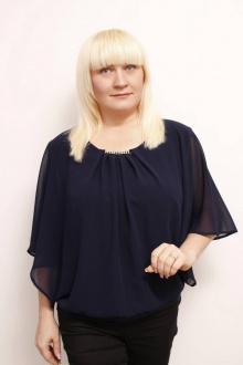 Блуза MIRSINA FASHION 14112020 синий