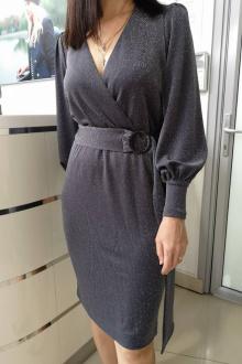 платье Achosa 1340 серый