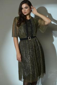 Angelina 610 золотисто-оливковый