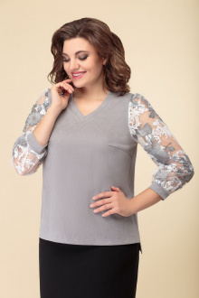 блуза DaLi 5444 серая
