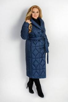 пальто TrikoTex Stil М3820 синий