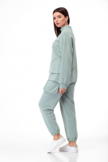 брюки,  свитшот Anelli 907 оливка