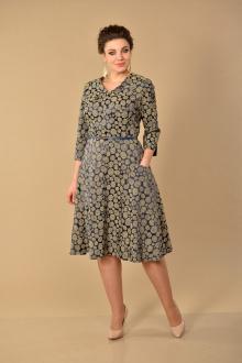 Lady Style Classic 1943/4 синий_горошек