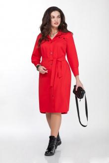 платье TEZA 1819 красный