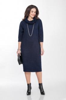 платье TEZA 2028 синий