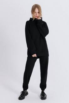 брюки, худи PiRS 1525 черный