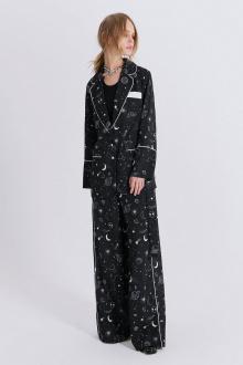 блуза,  брюки PiRS 2271 космос