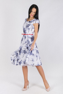 платье Daloria 1365 серый