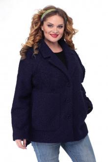пальто БелЭльСтиль 841 синий