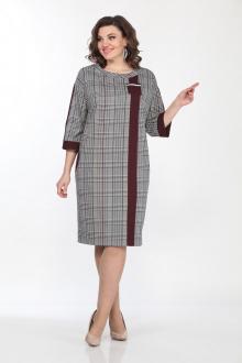 Lady Style Classic 1550/1 серый+бордо