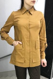 Блуза YFS 802 горчичный