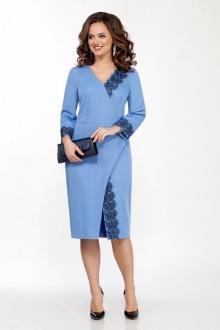 платье TEZA 2040 голубой