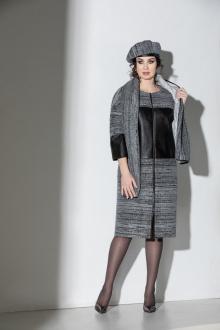 пальто, берет, шарф ElPaiz 613