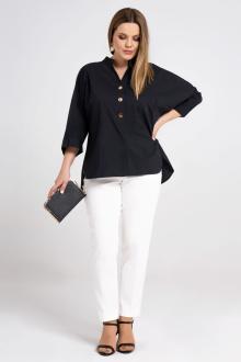 блуза Prio 485143 черный