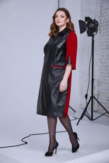 Andrea Style 0339 черный+красный