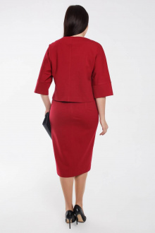 Комплект Gold Style 2462 красновато-бордовый