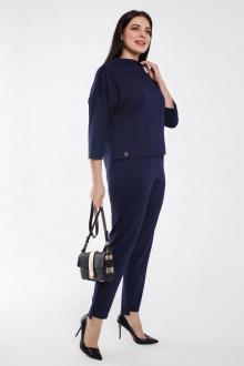 блуза,  брюки Gold Style 2463 синий