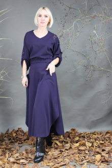 Комплект Стильная леди М-227 фиолетовый