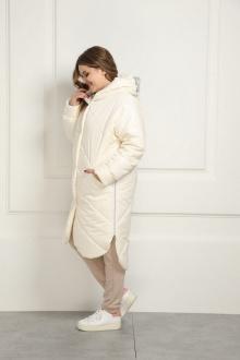 пальто AMORI 2120 молочный