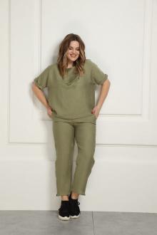 Блуза AMORI 6348 зеленый