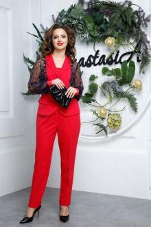 Anastasia 544 малиново-красный