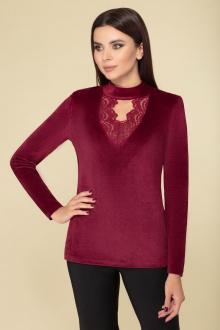 блуза DaLi 4391 бордо