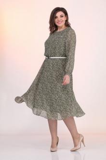 Lady Style Classic 2205/2 хаки_листочки