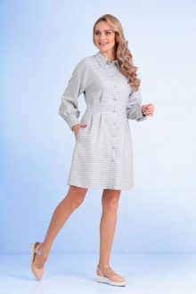 Andrea Fashion AF-111 серо-белый