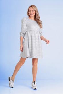 Andrea Fashion AF-112 серо-белый