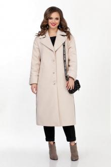 пальто TEZA 267 молочный