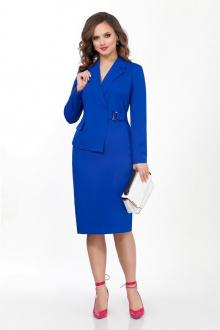 платье TEZA 2041 синий