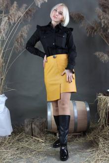 юбка Стильная леди М-330 желтый