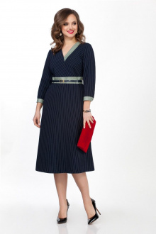 платье TEZA 2359 синий