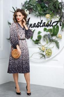 Anastasia 558+ремень сине-пудровый