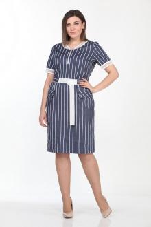 Lady Style Classic 2057/1 темно-синий_белый