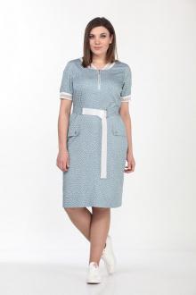 Lady Style Classic 2057/2 голубой_белый
